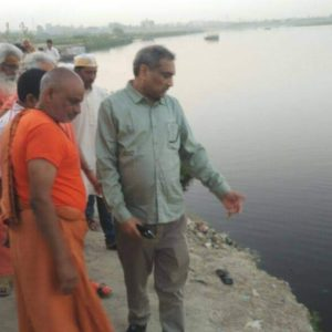 Mathura man's mission to save Yamuna