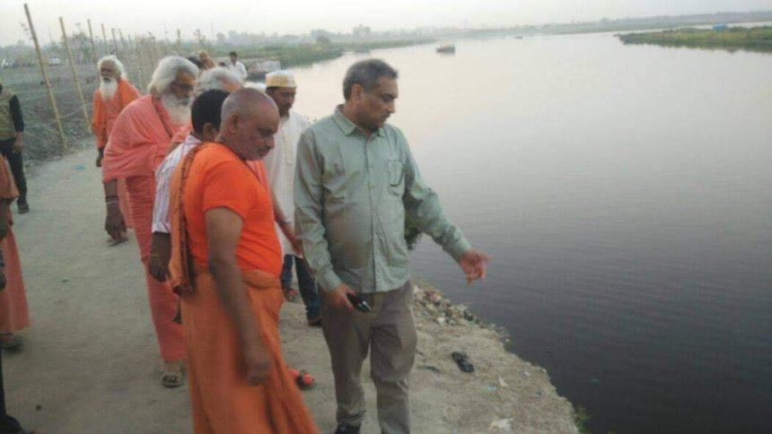 Mathura man's mission to save Yamuna